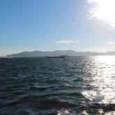 朝の海は最高に綺麗です