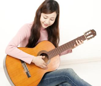 クラッシックギターレッスン風景3
