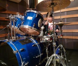 ドラムレッスン風景2