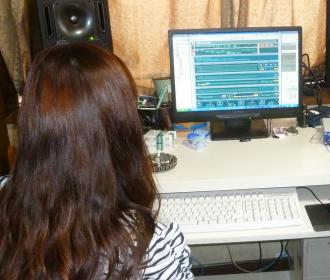 コンピューターミュージックレッスン風景3