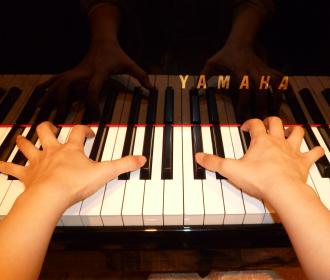 ジャズピアノレッスン風景2