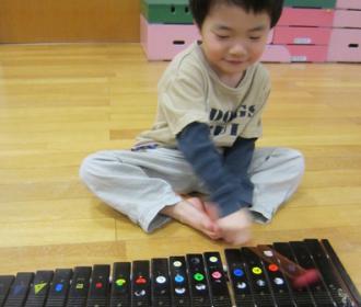 音楽療法レッスン風景1