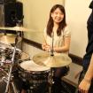 ドラム科 20代 女性 体験レッスンレポ